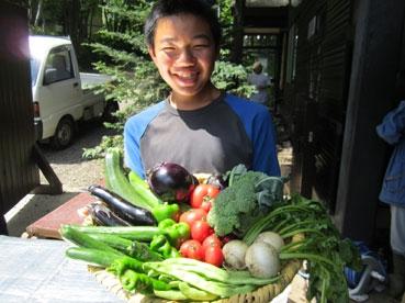 お野菜と侑次郎.jpg